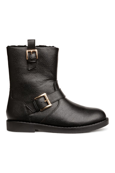 Warm-lined boots - Black -  | H&M GB
